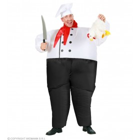 Chef Costume Inflatable Costume Scarf Fancy Dress
