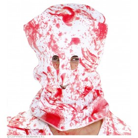 Mens Bloody Horror Hood Masks Masks - (Red,White)