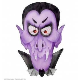 Vampire Wall Decorations 36X57Cm - Fancy Dress (Halloween)