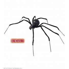 Bendable Black Spiders 90Cm - Fancy Dress (Halloween)