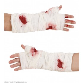 Bloody Arm Bandages - Fancy Dress (Halloween)