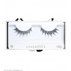 Silver Glitter Eyelashes (Glass Bottle Glue) Eyelashes - (Silver)