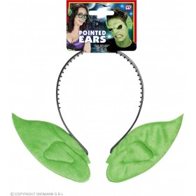 Pointed Ear Headbands - Green Accessories - (Green)