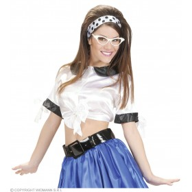 Satin White Tie Tops - Fancy Dress