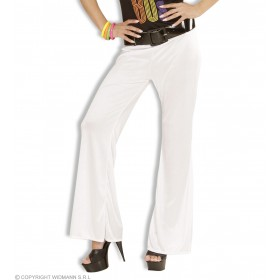 Bell Bottoms Ladies White - Fancy Dress