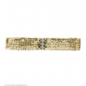 Sequin Belt - Gold - Fancy Dress
