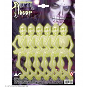 Skeletons G I Dk 15Cm - Fancy Dress (Halloween)