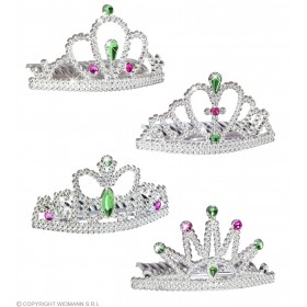 Princess Tiara 4 Styles Asstd Accessories