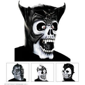 Skull Fighter Mask - Fancy Dress
