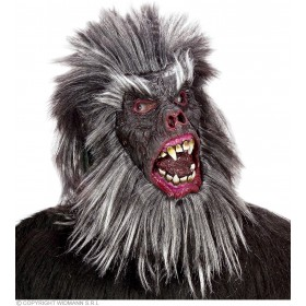 Gorilla Mask Plush - Fancy Dress (Animals)