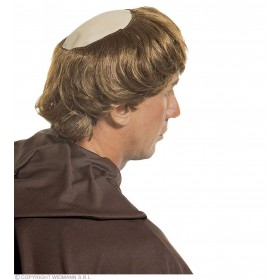 Monk Baldhead With Hair - Fancy Dress (Vicars/Nuns)