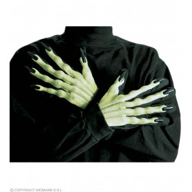 Witch Gloves 3D - Fancy Dress (Halloween)