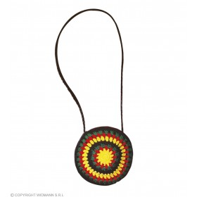 Crochet Handbag Reggae/Rasta - Fancy Dress