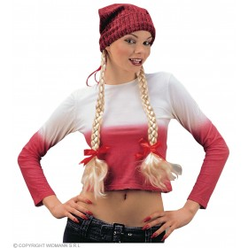 Hat With 2 Plaits - Fancy Dress