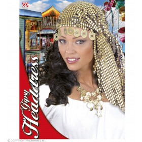 Sequin Gypsy Head Dress - Fancy Dress