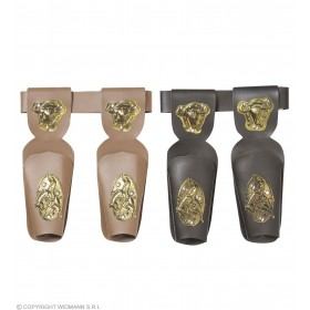 Cowboy Double Pistol Holsters - Fancy Dress (Cowboys/Native Americans)