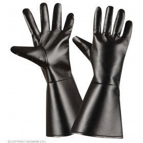 Gloves L/Look Adult Black - Fancy Dress Ladies