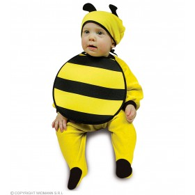 Baby Bee Bonnet & Bib Fancy Dress Costume (Animals)