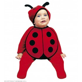 Baby Bug Bonnet & Bib Fancy Dress Costume (Animals)