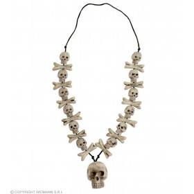 Skulls & Cross Bones Necklaces - Fancy Dress (Halloween)