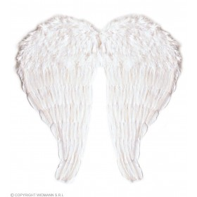 Feather Wings White Bendable 51X46Cm - Fancy Dress (Christmas)