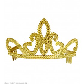 Gold Tiaras Hats - (Gold)