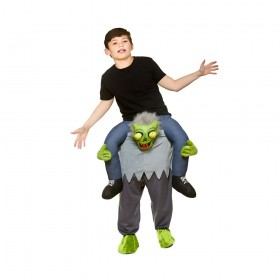 Zombie Carry Me Childs Halloween Costume Unisex
