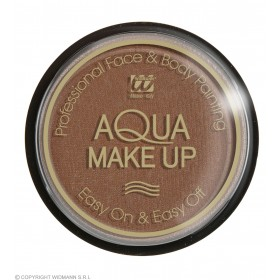 Aqua Makeup 15G - Brown Makeup - (Brown)