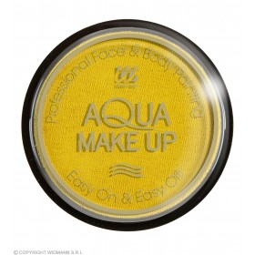 Aqua Makeup 15G - Yellow Makeup - (Yellow)