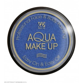 Aqua Makeup 15G - Metallic Blue Makeup - (Blue)