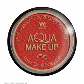 Aqua Makeup 15G - Metallic Red Makeup - (Red)