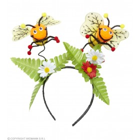 Bee Head Boppers W/Flowers Accessories