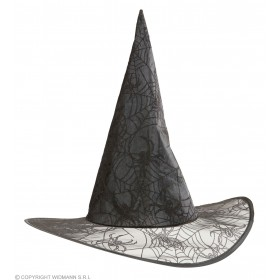 Spidermesh Witch Hats With Glitter Hats