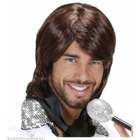 70S Pop Star Benny Wig Boxed Wigs
