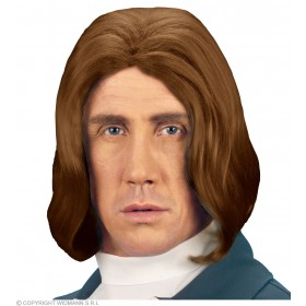 Amadeus Wig Brown - Fancy Dress