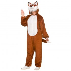 Deluxe Fox Adult Animal Costume