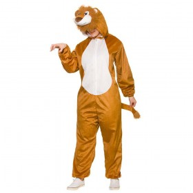 Deluxe Lion Adult Animal Costume