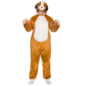 Deluxe Puppy Adult Animal Costume