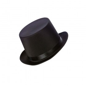Satin Top Hat Accessory