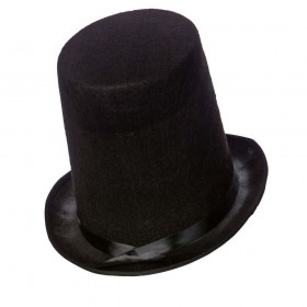 Stovepipe Hat 20cm Tall / Perfect Fit Hats