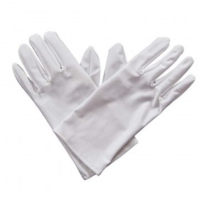 Gents Gloves - WHITE Gloves