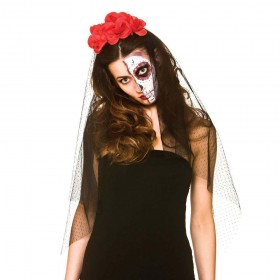 Day of the Dead Veil Head Wear Halloween