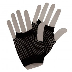80's Net Gloves - BLACK Gloves (1980)