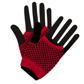 80's Net Gloves - RED Gloves (1980)