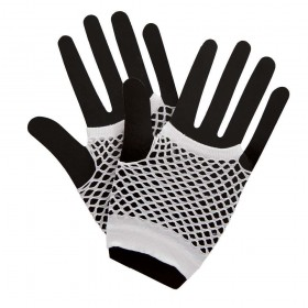 80's Net Gloves - WHITE Gloves (1980)