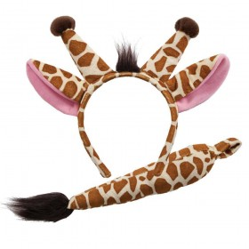 Ears & Tail - Giraffe Animal Accessories