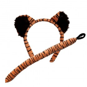 Ears & Tail - Tiger Animal Accessories