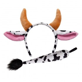 Ears & Tail - Cow Animal Accessories