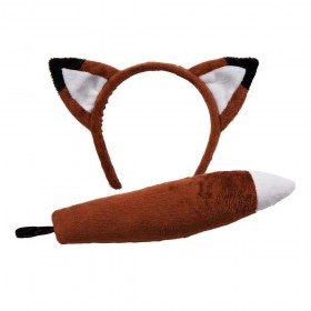 Ears & Tail - Fox Animal Accessories