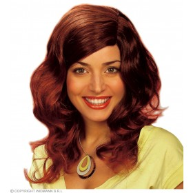 Brandy Wig Brown - Fancy Dress